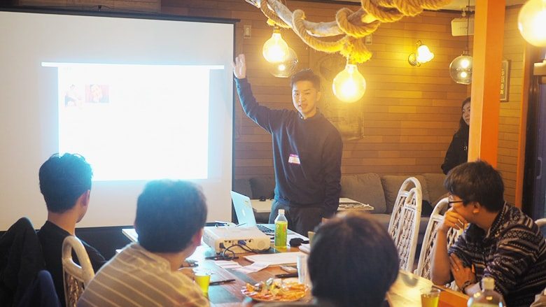 Eight participants from various industries spared time from their busy year-end schedules to attend the meeting.