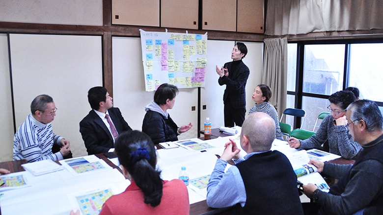 On February 28, 2019, the Assembly was held in the meeting room at Development Center in Motomachi, Oshima.